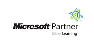 Microsoft Silver Learning Logo